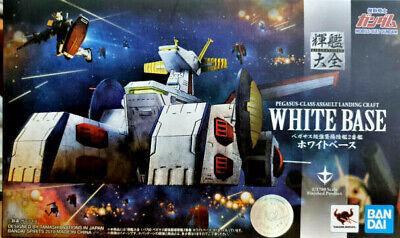 Gundam Scv-70 Base Bianca White Base - Bandai Kikan Taizen Die Cast 1:1700 Forte Resistenza Al Calore E All'Usura Dura