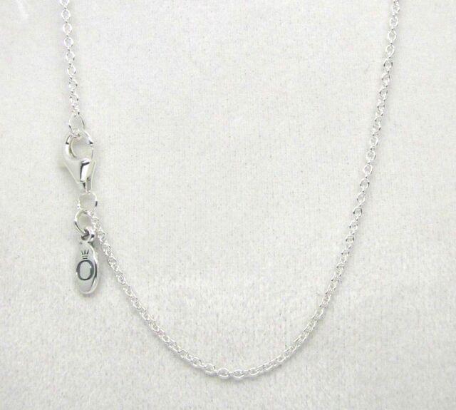 3441d159beccf PANDORA 590412-45 Chain Necklace Sterling Silver Adjustable 45 Cm H12
