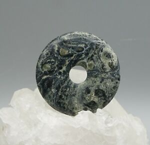 Eldarit-Pendentif-Donut-50-mm-Pi-Scheibe-A-Qualite-de-Pierre-Precieuse-b3