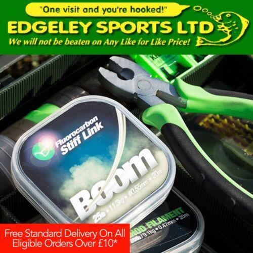 Stiff Link Korda Boom Fluorocarbon Hooklink Full Range Available