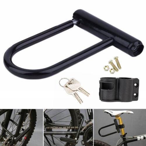 Serrure verrouillage antivol type U pour vélo bicyclette moto motocyclette BR