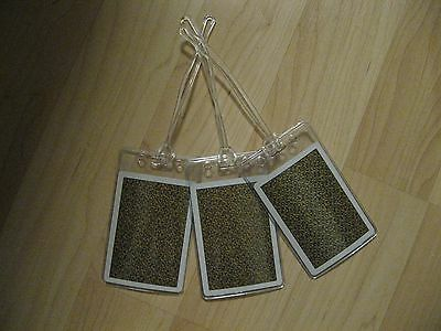 Virginia Slims Luggage Tags - You've Come A Long Way Baby Cigarette Logo Tag (3)