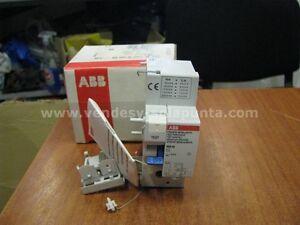ABB-DDA62-IN-MAX-63A-0-5-A-BLOCCO-DIFFERENZIALE-2-POLI-63-A-0-5A-NUOVO