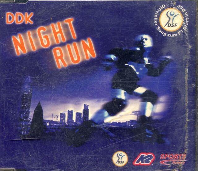 DDK - Night Run ♫ Maxi-Single-CD von 2000 ♫