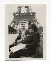 PHOTO Ratée Erreur Accident Photographique Floue Bougé Tour Eiffel Vers 1930