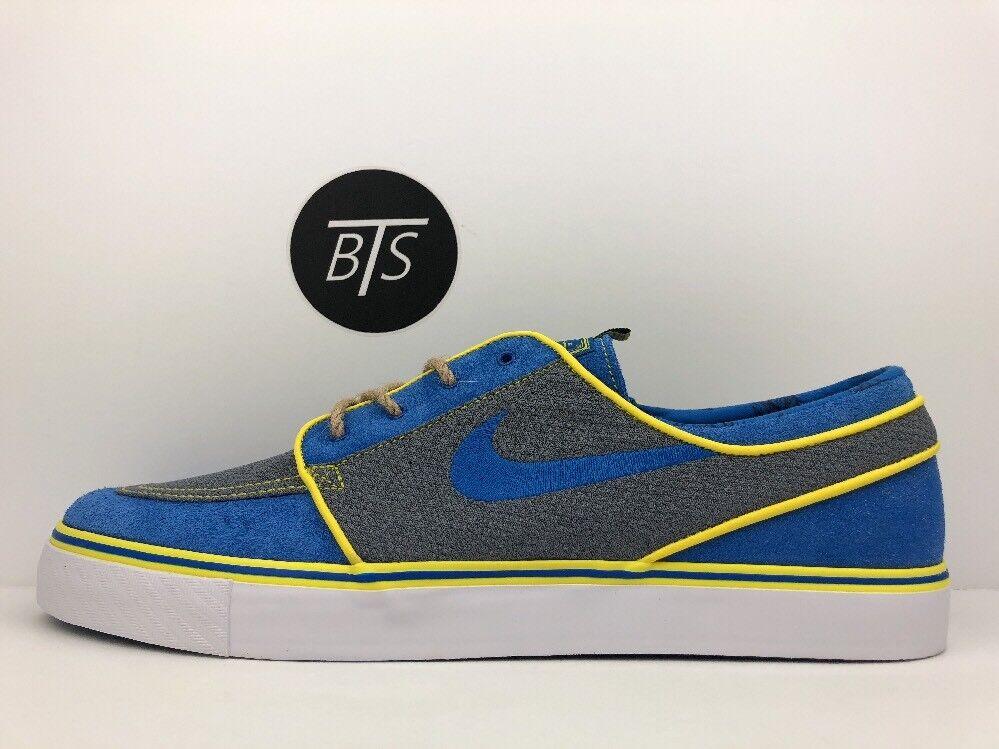 Men's Nike Zoom Stefan Janoski  Doernbecher   Size-11.5 Blue Grey (AH7188 470)