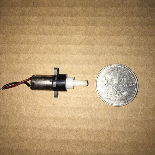 Micro Planetary Gearbox Gear Motor Mini 10mm DC3V-5V 125RPM Slow Speed DIY Robot