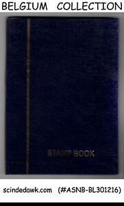 COLLECTION-of-BELGIUM-USED-STAMPS-IN-SMALL-STOCK-BOOK-175-USED-STAMPS