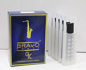 Bravo-Synthetic-Reeds-for-Tenor-Saxophone-Box-of-5-Strength-3-0