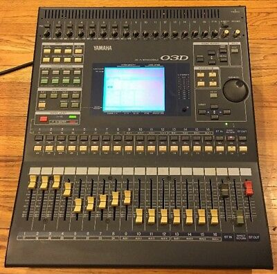yamaha o3d digital mixer digital mixing console yamaha 03d ebay. Black Bedroom Furniture Sets. Home Design Ideas