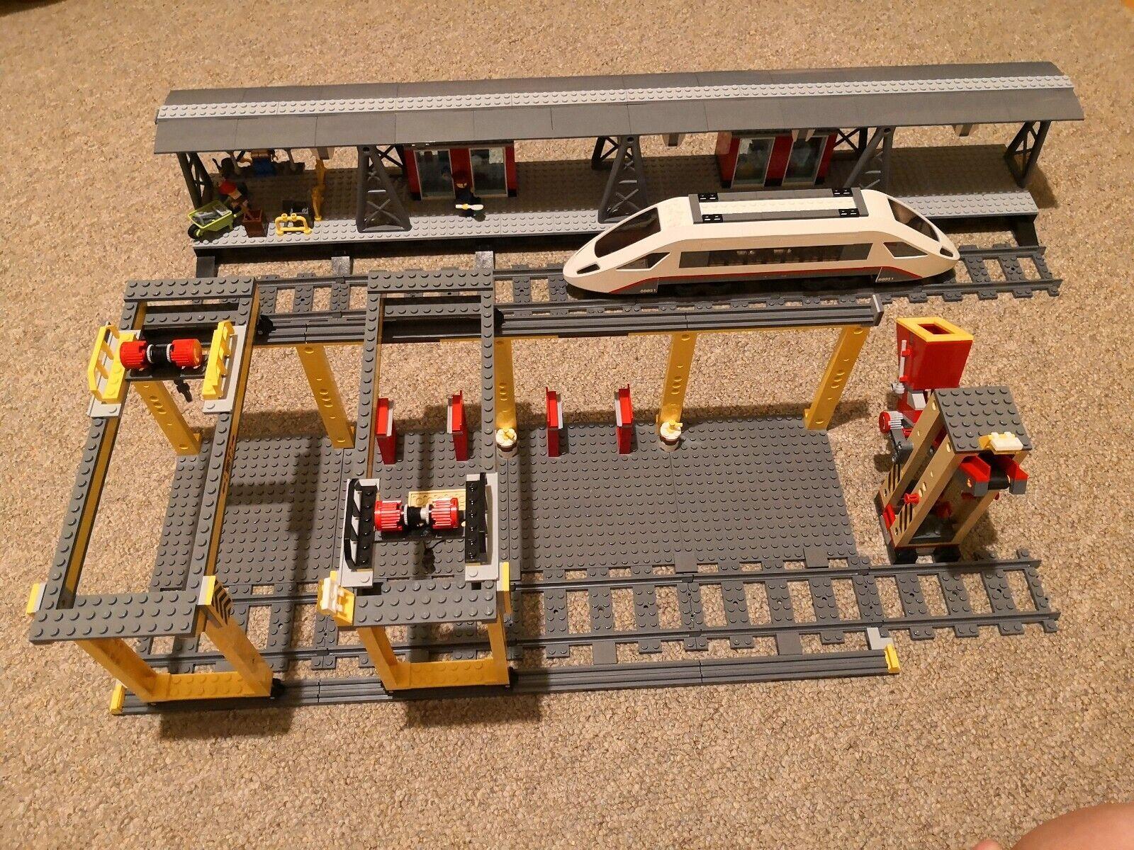 Lego Lego Lego Train Yard Station 3677 60052 60050 c6d233