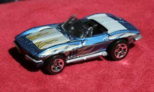 Hot-Wheels-039-65-CORVETTE-GMTM-1999-M-I-Malaysia