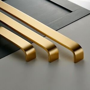 Modern-Wide-Curved-Solid-Brass-Gold-Cabinet-Door-And-Drawer-Bar-Pulls-Handles