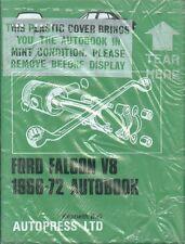 FORD FALCON V8 XR XT XW XY XA SERIES 1966 - 1972 OWNERS WORKSHOP MANUAL * NEW *