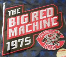 WHOLESALE LOT OF 25 CINCINNATI REDS BIG RED MACHINE PATCH BELOW COST