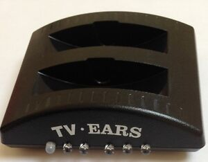 TV EARS DI RICARICA BASE PER TV EARS CUFFIE Sistema CONTIENE 2 ...