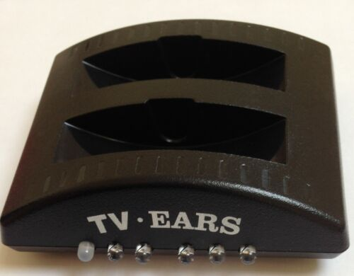 TV Ears Charging Base Unit for TV Ears Headphone System Holds 2 Pairs