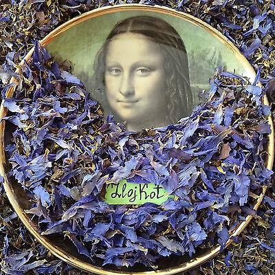 100 grams Nymphaea Caerulea, Egyptian Blue Lotus Dried Flowers, Tea, Smoke Herb