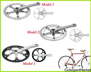Guarnitura ideale bicicletta VINTAGE RETRO' Singola Velocità - 46 Denti 48 Denti