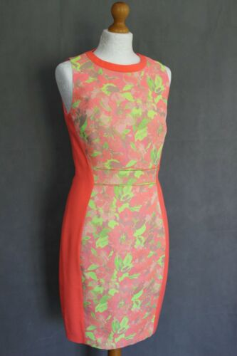 2 Uk Vibrant Abenony 10 Ladies Taglia Dress Ted Baker Small S Floral qU0WAg6