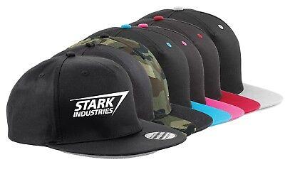 Stark Industries Trucker Cap Iron Man Cap Hats Tony Stark Avengers
