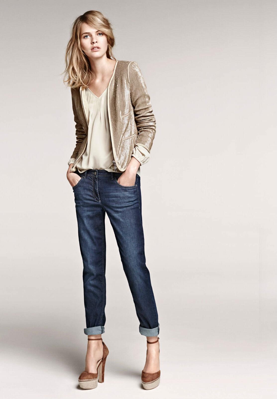 Luisa Cerano Skinny Boyfriend Fit Jeans - Größe 12 - Box62 43 E