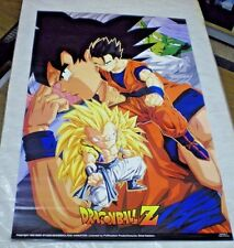 1998 Dragonball Z Character Collage Poster 23 x 35 inches (vintage)