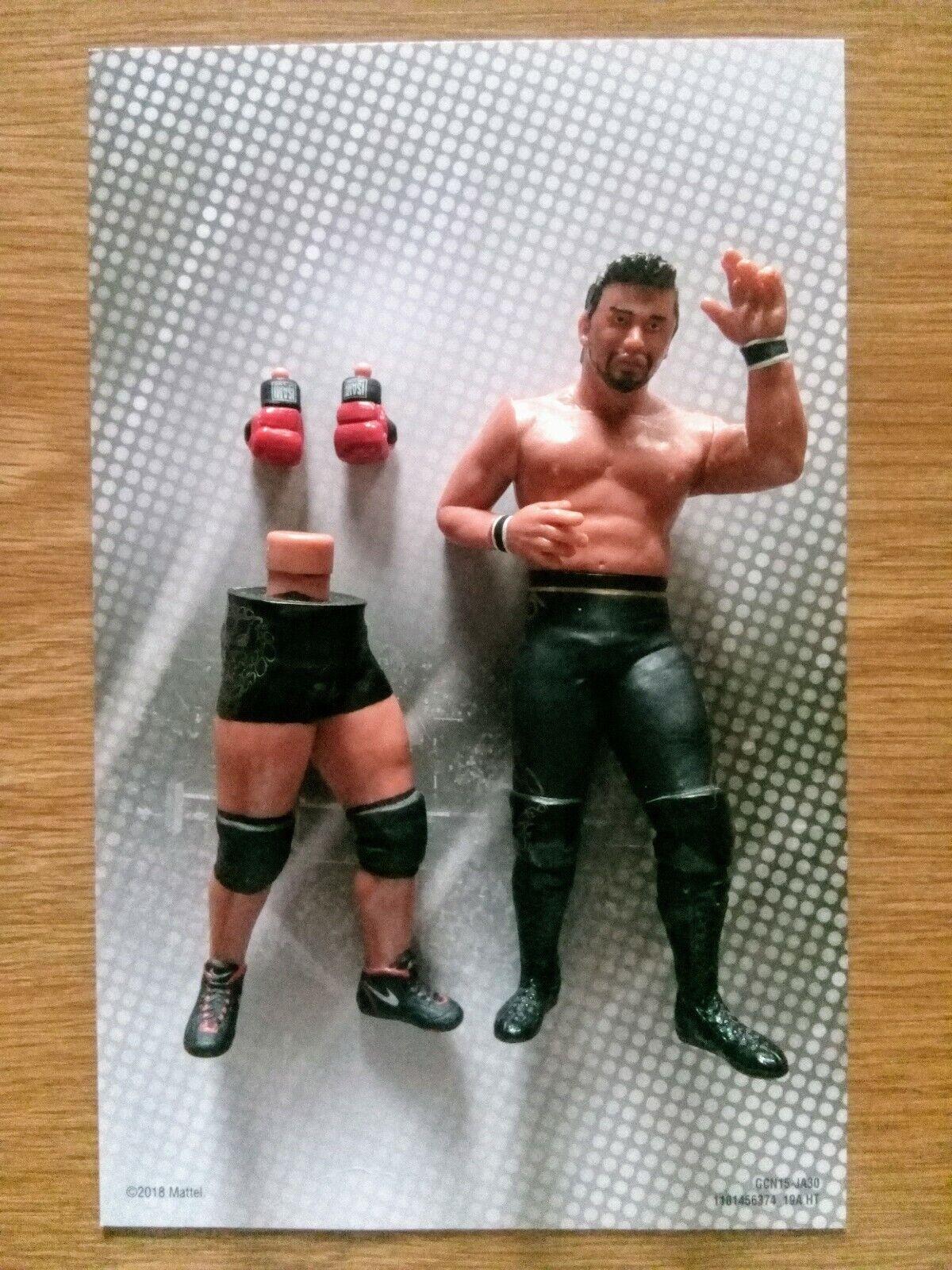 WWE SHINSUKE NAKAMURA Wrestler Figure New Japan Pro Wrestling NJPW