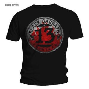 Oficial-T-Shirt-Black-Sabbath-Black-13-album-Converse-logotipo-Todos-Los-Tamanos