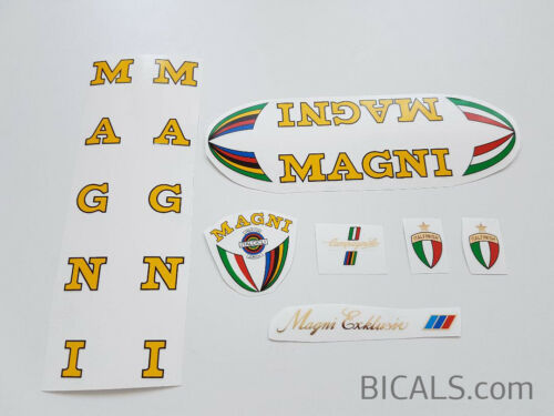 MAGNI Exklusiv ICS exclusiv decal set sticker complete bicycle FREE SHIPPING