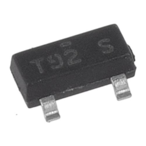 800 x Fairchild Semiconductor BSR18A PNP Transistor, 200mA, 40V, 3-Pin SOT-23