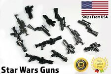 LEGO Star Wars Guns Lot of 10 Blasters Pack Black Clone Trooper Scout New Set