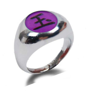 Naruto Akatsuki Cosplay Anime Ring 1#