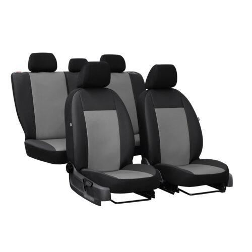 Universal Sitzbezüge Grau für Nissan Almera Autositzbezüge Schonbezüge Set Auto
