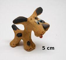 chien de collection en grès, fait main ,objet de  vitrine  dog, hond  **G17