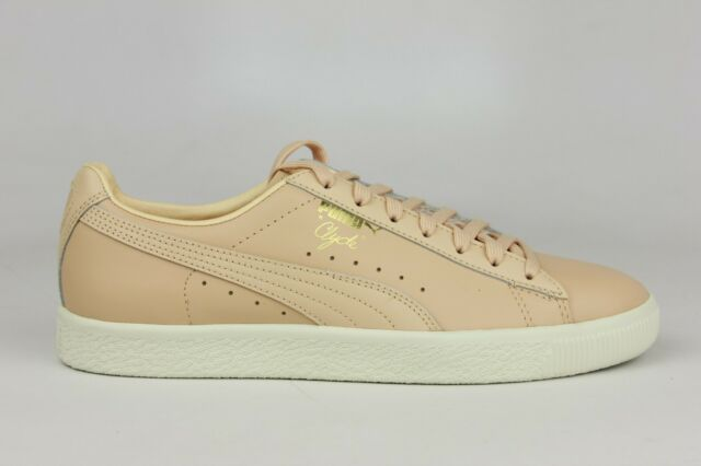 wholesale dealer 1c2e2 fb698 PUMA CLYDE NATURAL VACHETTA MENS SIZE SNEAKERS 363617-03 BRAND NEW DS MEN
