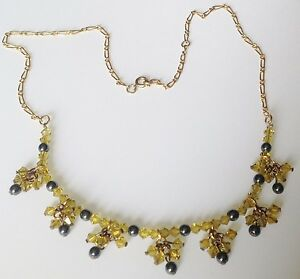 collier-retro-couleur-or-pampille-cristal-jaune-perle-grise-pampille-478