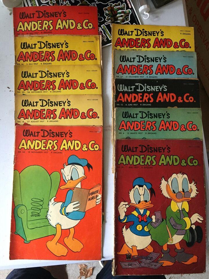Bøger og blade, Anders And Blade