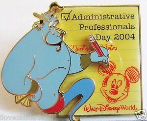 Disney Administrative Professionals Day Genie Artist Proof AP Pin