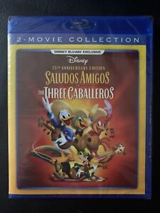 Disney-Saludos-Amigos-amp-The-Three-Caballeros-Blu-ray-75th-Anniversary-NEW