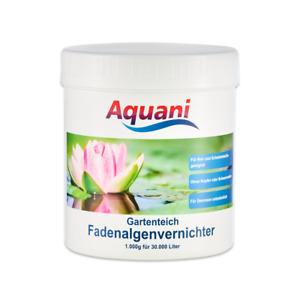 Fische & Aquarien 100% Wahr Aquani Fadenalgenvernichter 1.000g Fadenalgenex Gegen Fadenalgen Im Teich