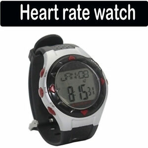 Pulse-Heart-Rate-Monitor-Sport-Stop-Wrist-Watch-Calorie-Counter-Black