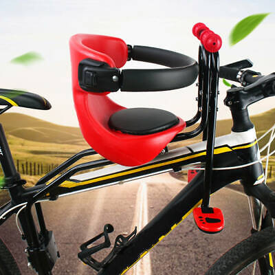 Safety Stable Baby Child Kids Bicycle Bike Front Chair Carrier Sport Seats Q3I7
