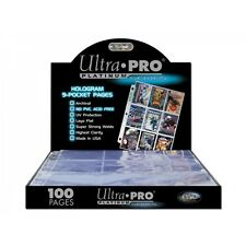 Ultra Pro 9 Pocket Page Box of 100 - Brand new!