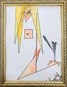 Margarita Bonke Malerei PAINTING Bild Illustration akt Erotica Erotik Nu Nude A3