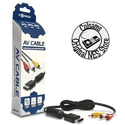 NEW AV AUDIO VIDEO CABLE FOR SONY PLAYSTATION PS3/PS2/PS1 SYSTEM CONSOLE