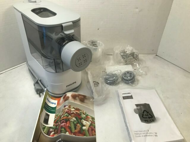 Philips Viva Collection Compact Pasta & Noodle Maker, White - HR2370/05