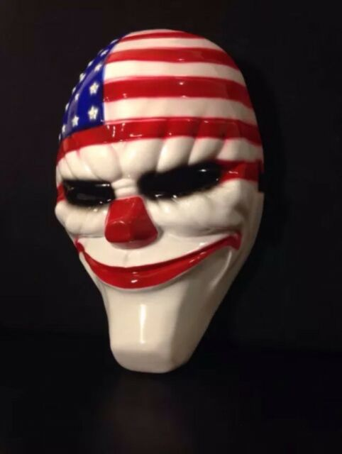 Game PAYDAY 2 The Heist Dallas Mask Cosplay Props Halloween Mask Collection 2019
