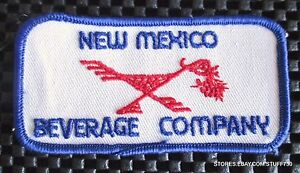 NEW-MEXICO-BEVERAGE-COMPANY-EMBROIDERED-SEW-ON-ONLY-PATCH-ALBUQUERQUE-NM-4-034-x-2-034