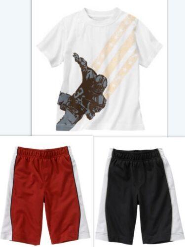 NWT 8 Gymboree FOOTBALL Active Tops Circle Table Shorts Shirt Top Boy